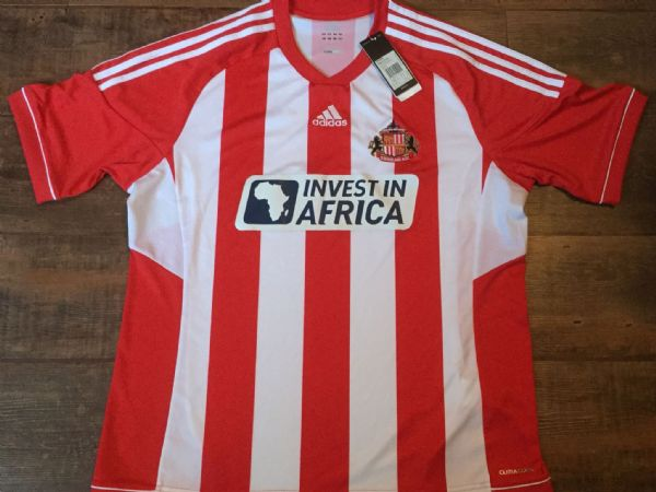 2012 2013 Sunderland BNWT New Home Football Shirt Adults XL